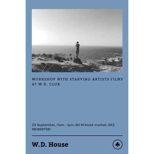 Workshop @ W D House