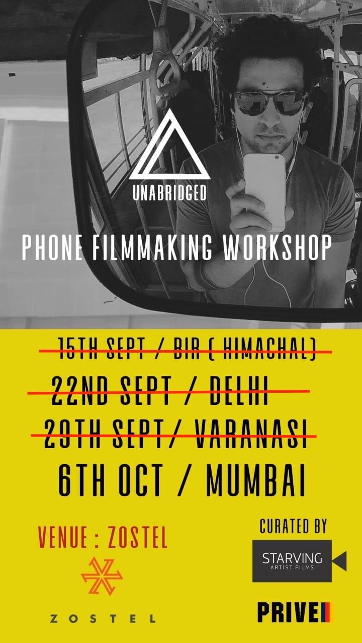 Zostel Unabridged Filmmaking Workshop