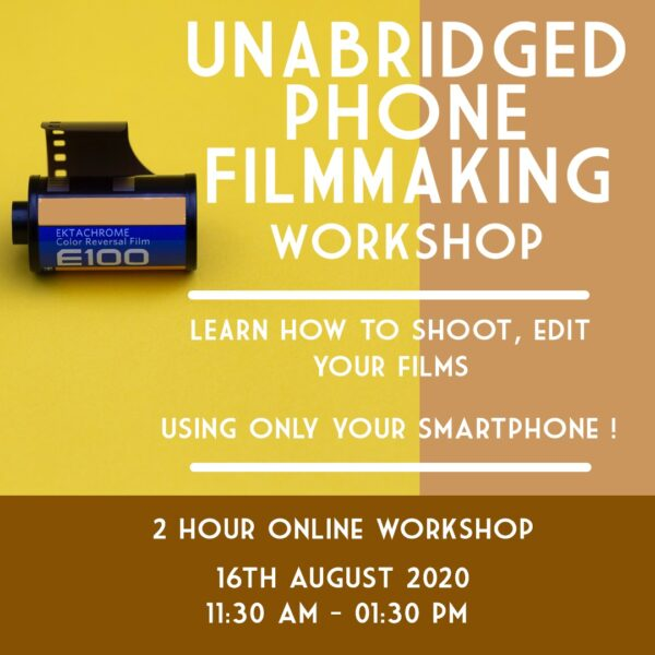 Phone Filmmaking Workshop 3