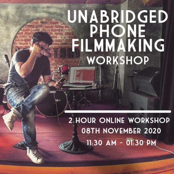 Phone Filmmaking Workshop – 8 Nov